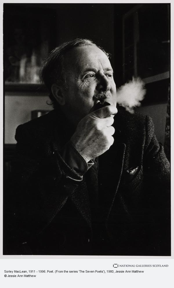 Jessie Ann Matthew, Sorley MacLean, 1911 - 1996. Poet. (From the series 'The Seven Poets')