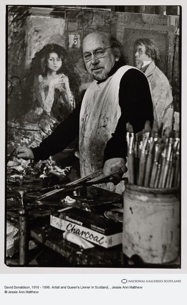 Jessie Ann Matthew, David Donaldson, 1916 - 1996. Artist and Queen's Limner in Scotland