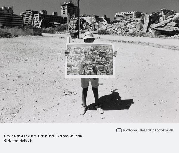 Norman McBeath, Boy in Martyrs Square, Beirut