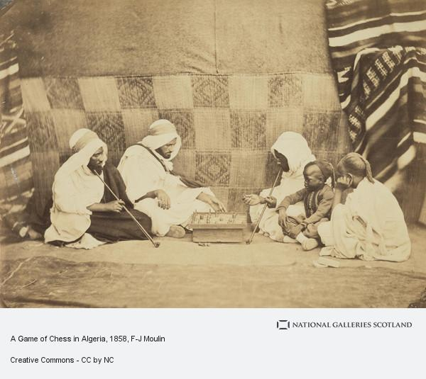 F-J Moulin, A Game of Chess in Algeria