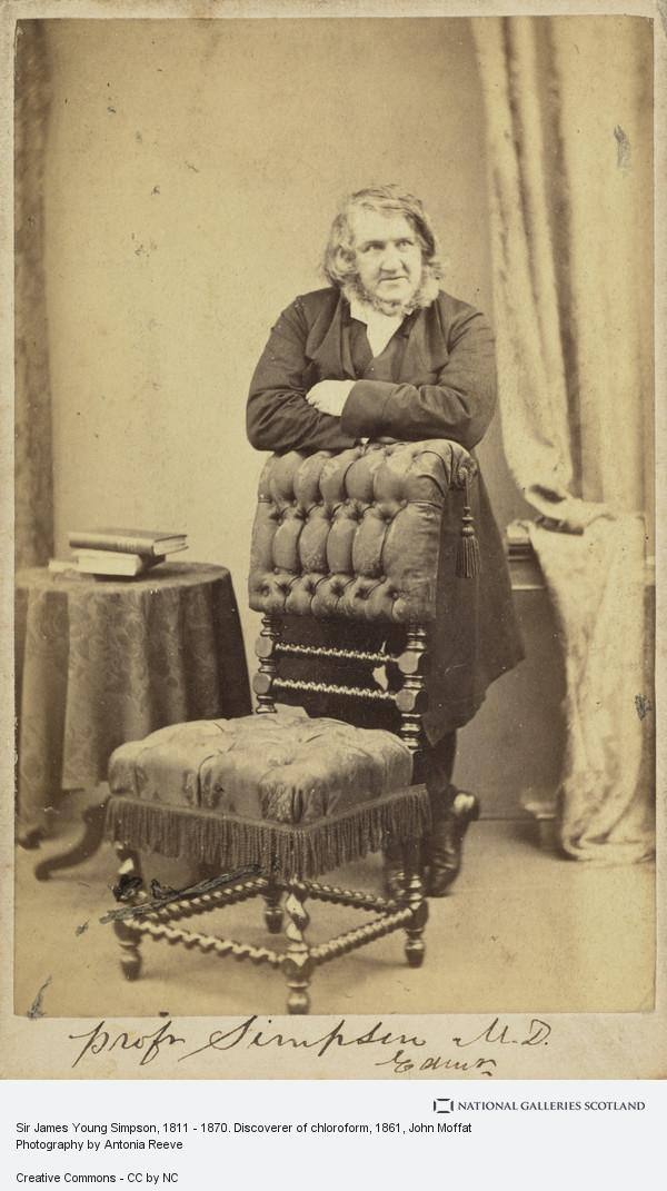 John Moffat, Sir James Young Simpson, 1811 - 1870. Discoverer of chloroform (About 1861)