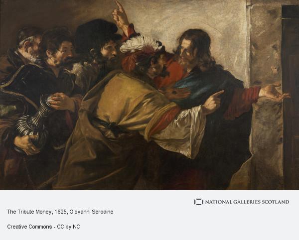 Giovanni Serodine, The Tribute Money