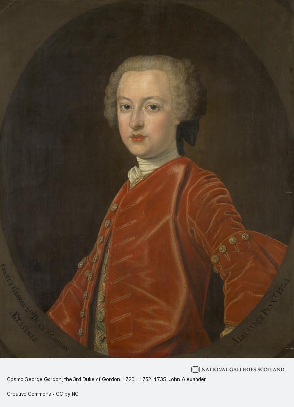 John Alexander, Cosmo George Gordon, the 3rd Duke of Gordon, 1720 - 1752