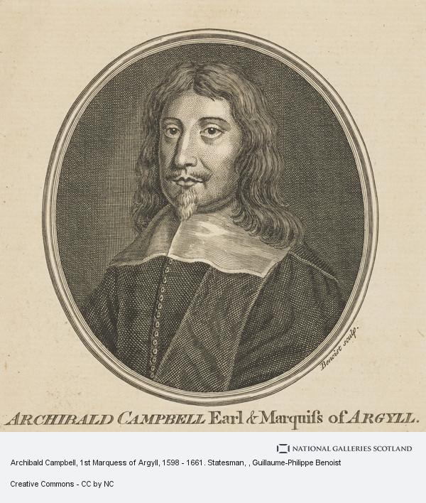 Guillaume-Philippe Benoist, Archibald Campbell, 1st Marquess of Argyll, 1598 - 1661. Statesman