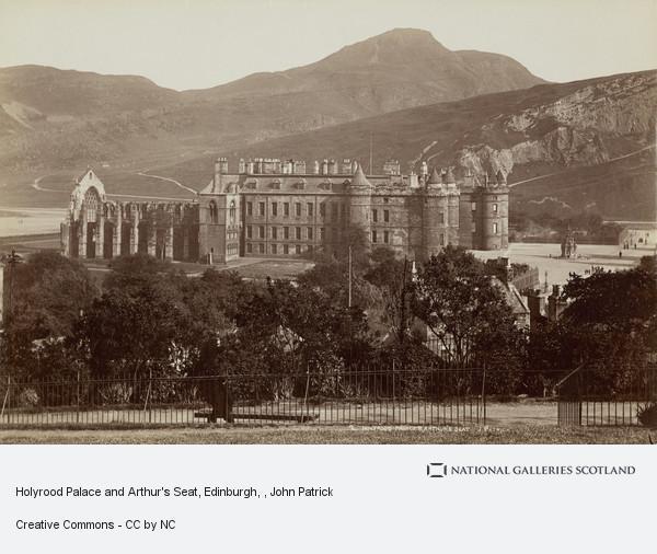 John Patrick, Holyrood Palace and Arthur's Seat, Edinburgh