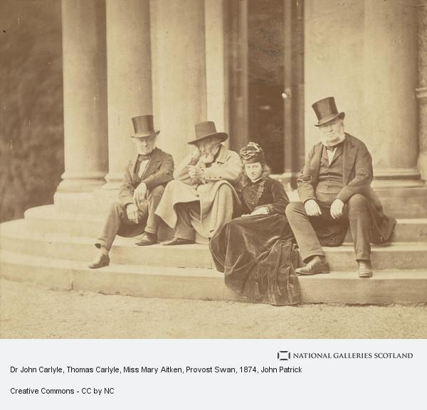 John Patrick, Dr John Carlyle, Thomas Carlyle, Miss Mary Aitken, Provost Swan