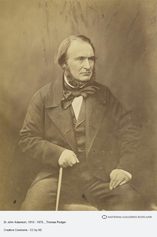 Thomas Rodger, Dr John Adamson, 1810 - 1870