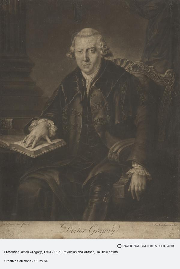 Richard Earlom, Professor James Gregory, 1753 - 1821. Physician and Author