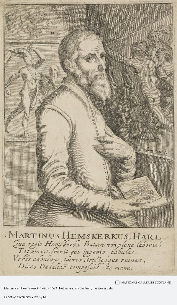 Unknown, Marten van Heemskerck, 1498 - 1574. Netherlandish painter