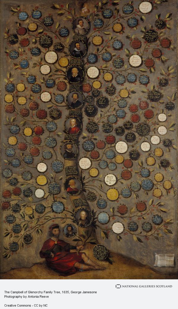 George Jamesone, The Campbell of Glenorchy Family Tree (1635)