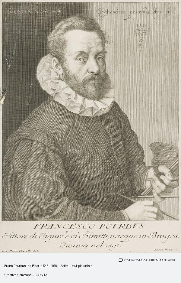Rocco Pozzi, Frans Pourbus the Elder, 1545 - 1581. Artist
