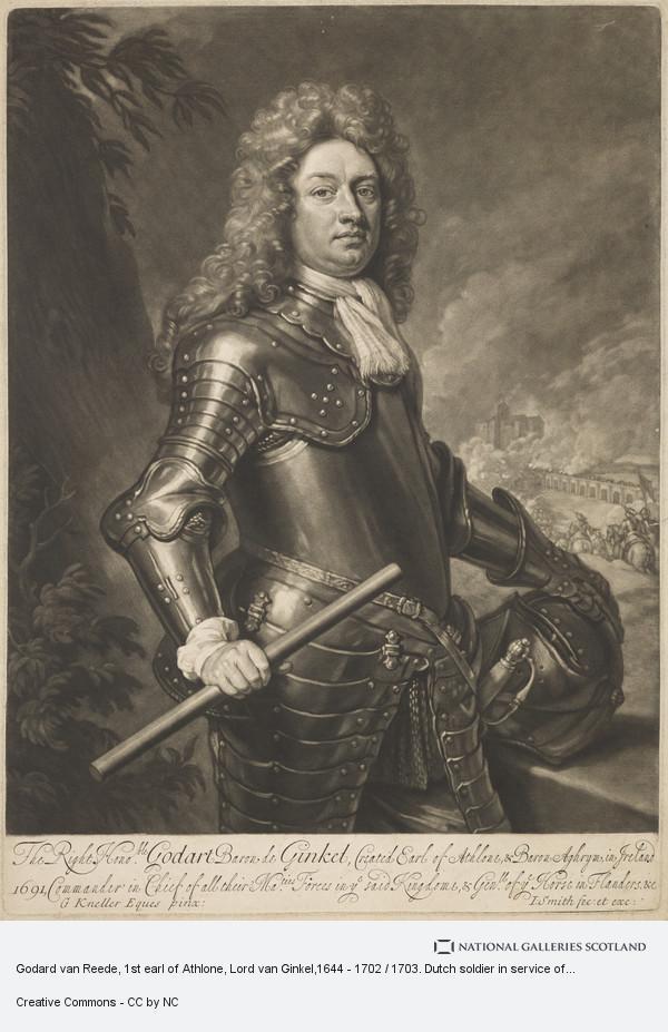 John Smith, Godart de Ginkel, 1st Earl of Athlone, 1630 - 1703
