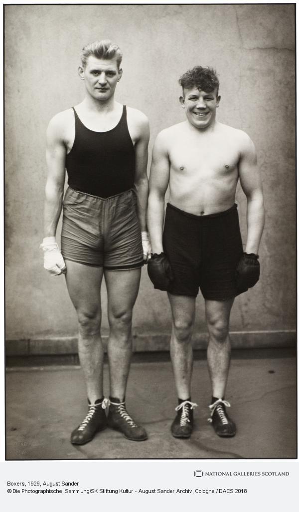 August Sander, Boxers, 1929 (1929)