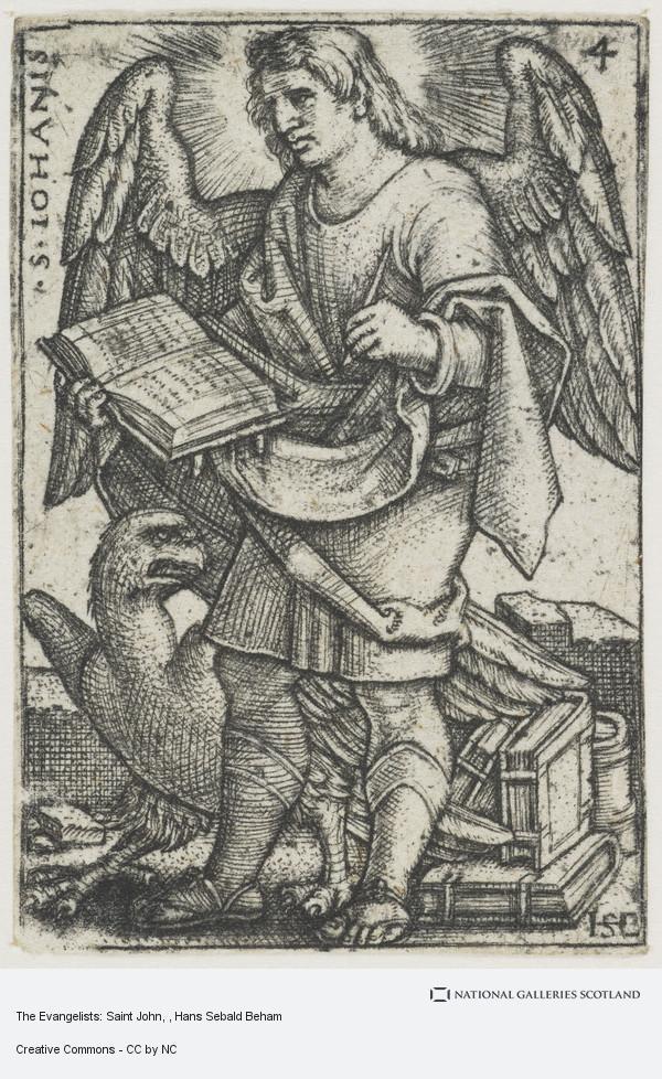 Hans Sebald Beham, The Evangelists: Saint John