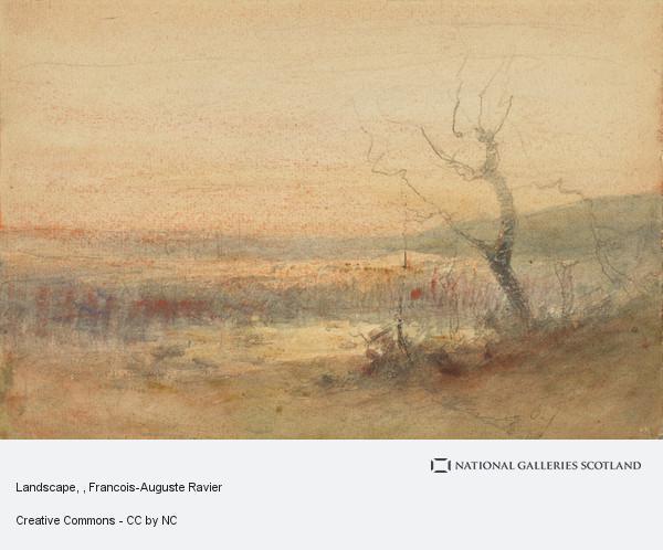 Francois-Auguste Ravier, Landscape