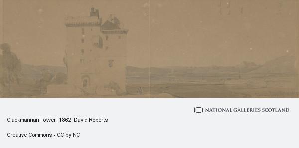 David Roberts, Clackmannan Tower
