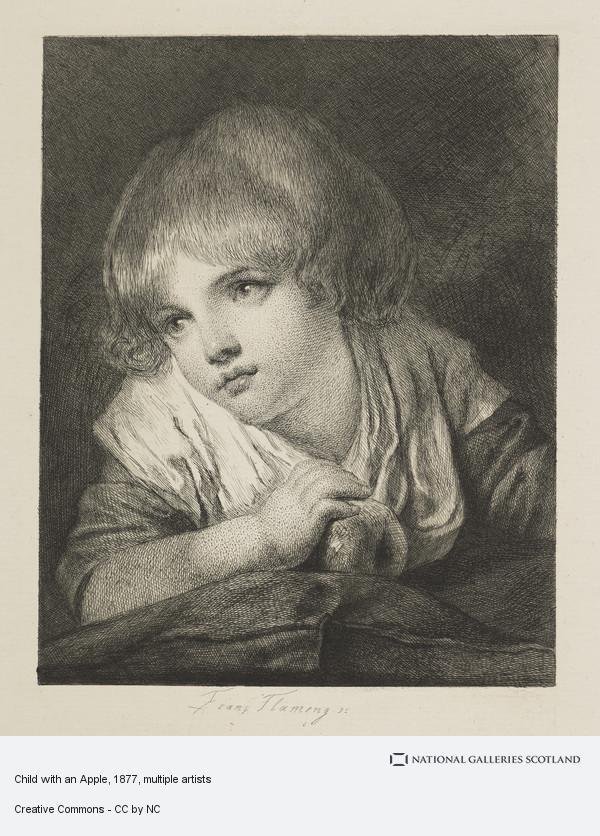 Jean-Baptiste Greuze, Child with an Apple
