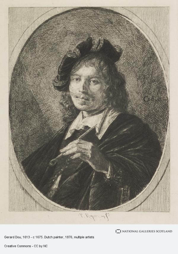 Gerrit Dou, Gerard Dou, 1613 - c 1675. Dutch painter