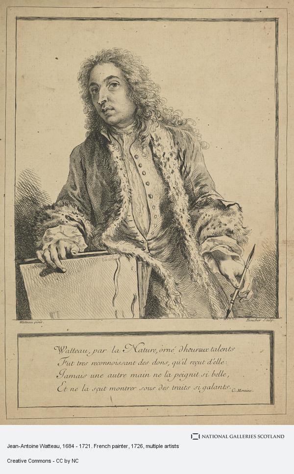 François Boucher, Jean-Antoine Watteau, 1684 - 1721. French painter