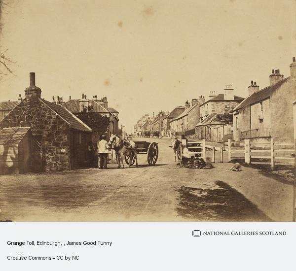 James Good Tunny, Grange Toll, Edinburgh