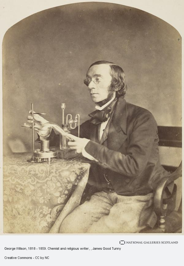 James Good Tunny, George Wilson, 1818 - 1859. Chemist and religious writer
