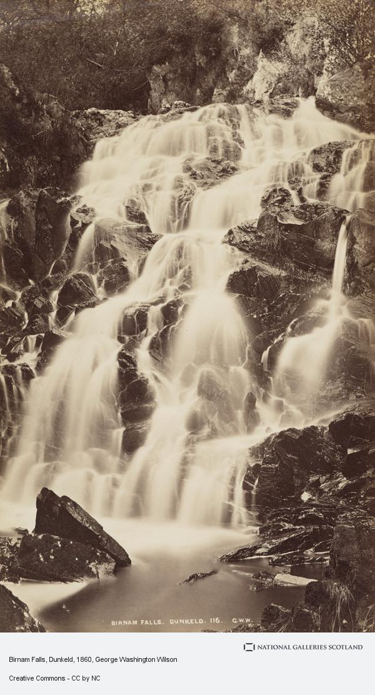 George Washington Wilson, Birnam Falls, Dunkeld (About 1860)