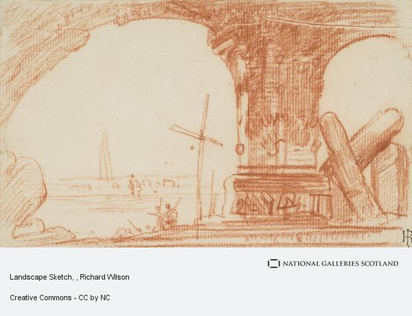 Richard Wilson, Landscape Sketch