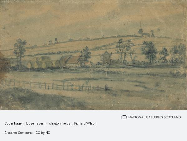 Richard Wilson, Copenhagen House Tavern - Islington Fields