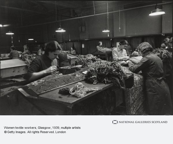 Humphrey Spender, Women textile workers, Glasgow