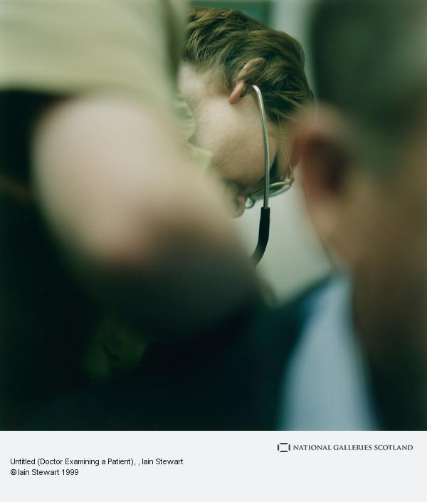 Iain Stewart, Untitled (Doctor Examining a Patient)