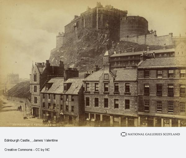 James Valentine, Edinburgh Castle