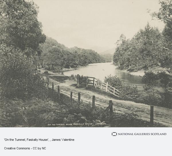 James Valentine, 'On the Tummel, Faskally House'