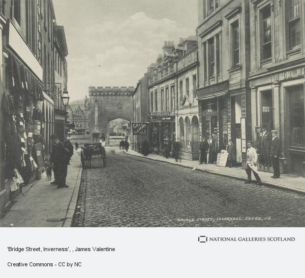 James Valentine, 'Bridge Street, Inverness'