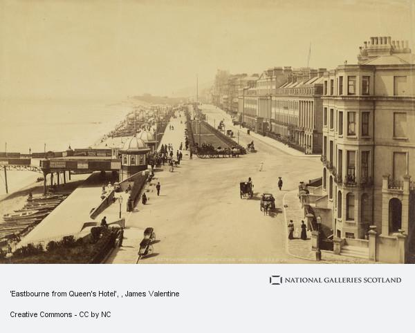 James Valentine, 'Eastbourne from Queen's Hotel'