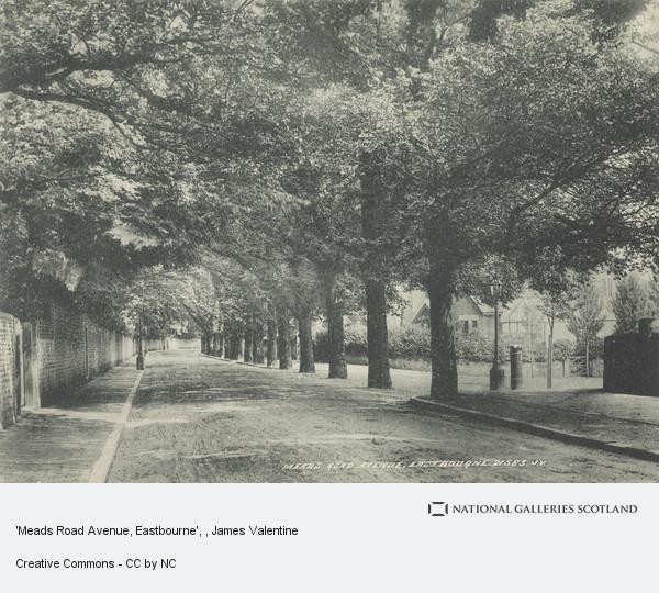 James Valentine, 'Meads Road Avenue, Eastbourne'
