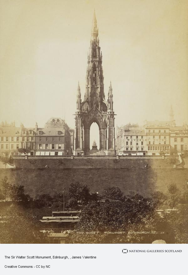 James Valentine, The Sir Walter Scott Monument, Edinburgh
