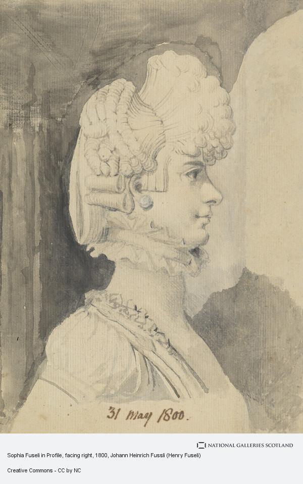Johann Heinrich Fussli (Henry Fuseli), Portrait of Mrs Fuseli