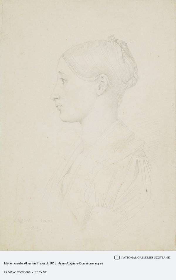 Jean-Auguste-Dominique Ingres, Mademoiselle Albertine Hayard