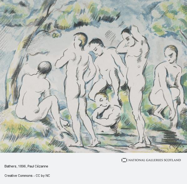 Paul Cezanne, Bathers