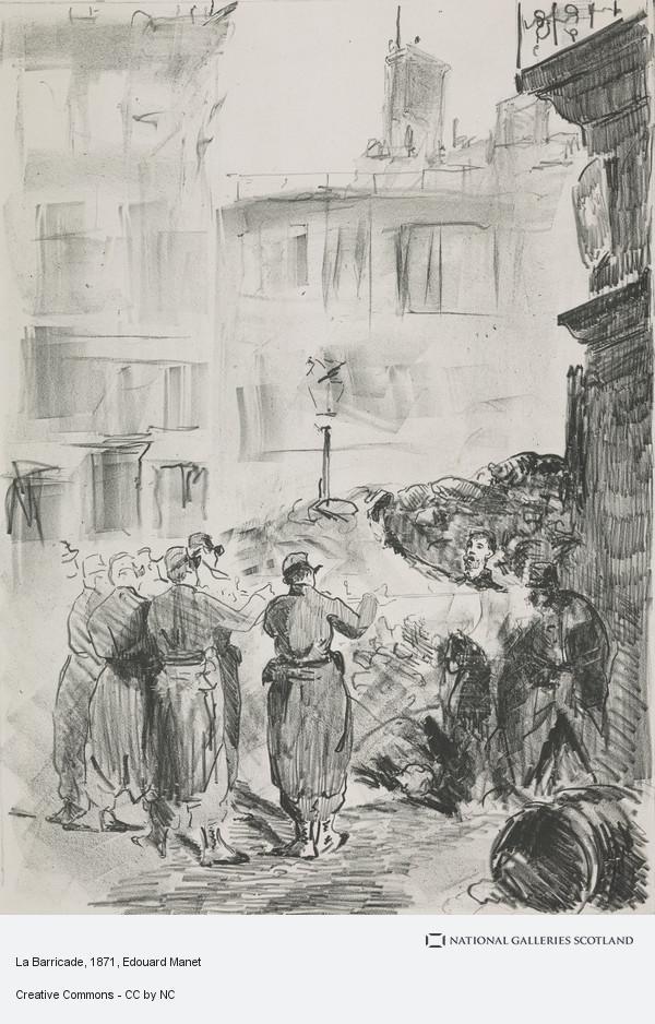 Edouard Manet, La Barricade