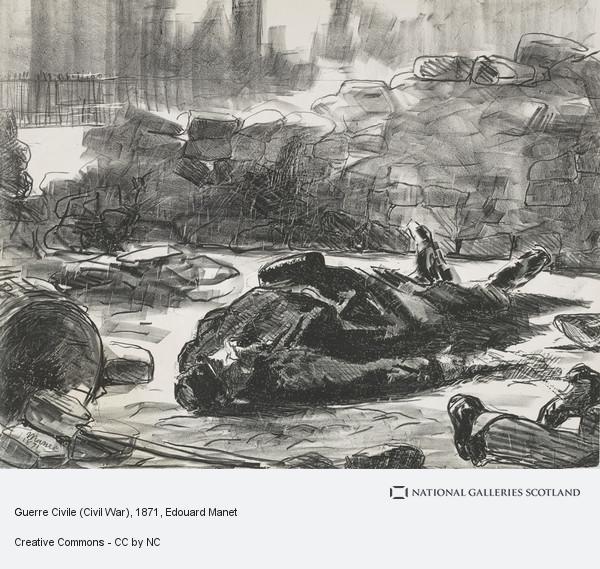 Edouard Manet, Guerre Civile (Civil War)