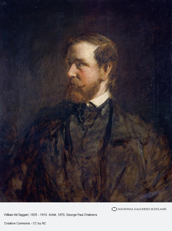 George Paul Chalmers, William McTaggart, 1835 - 1910. Artist (1870 - 1875)