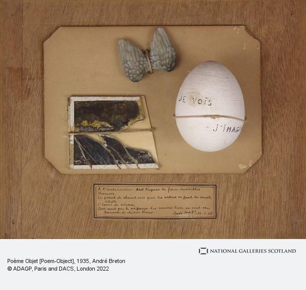 Andre Breton, Poème Objet [Poem-Object]