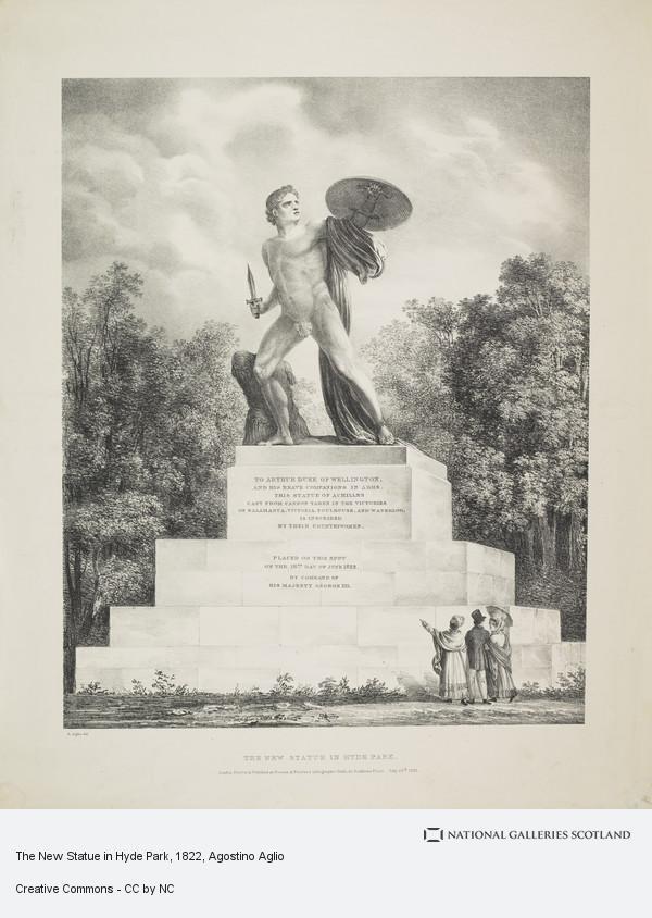 Agostino Aglio, The New Statue in Hyde Park