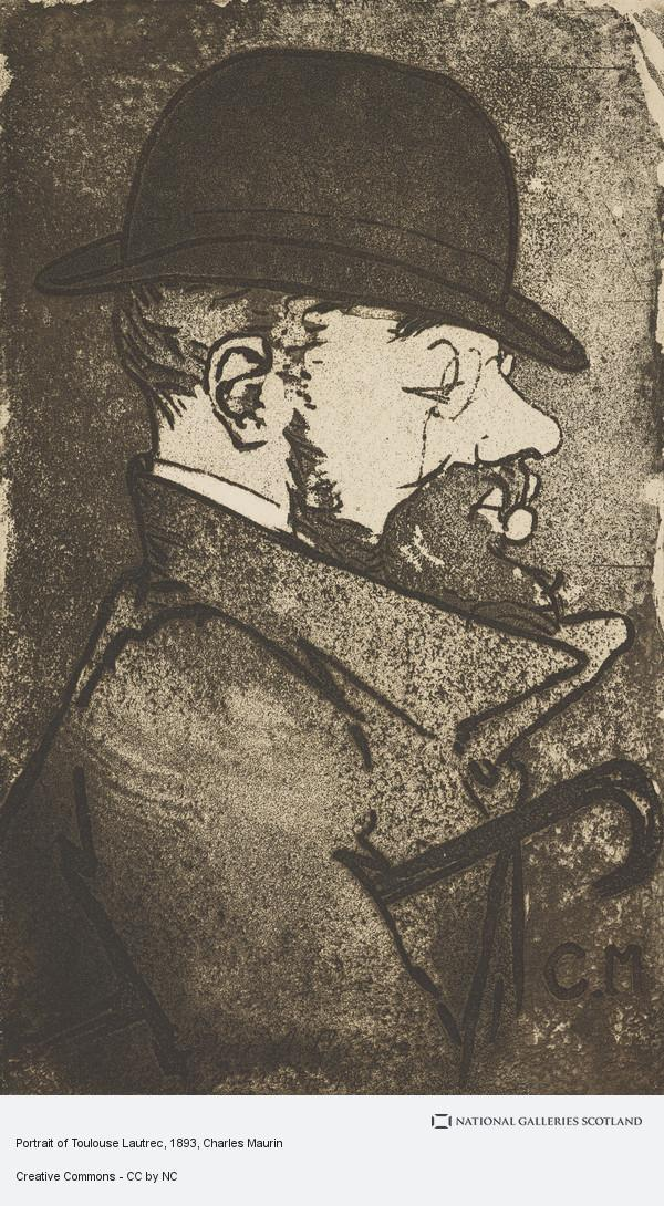 Charles Maurin, Portrait of Toulouse Lautrec