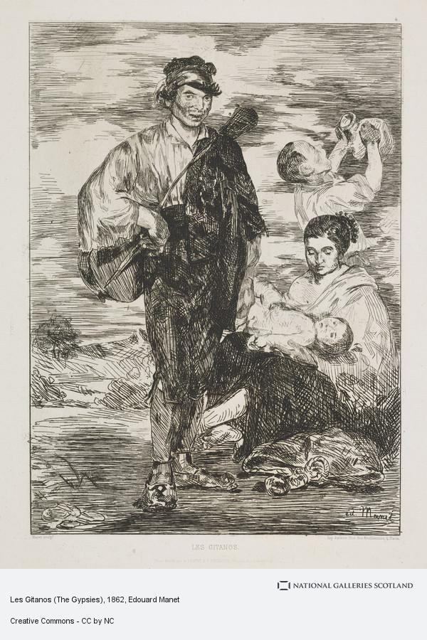 Edouard Manet, Les Gitanos (The Gypsies)