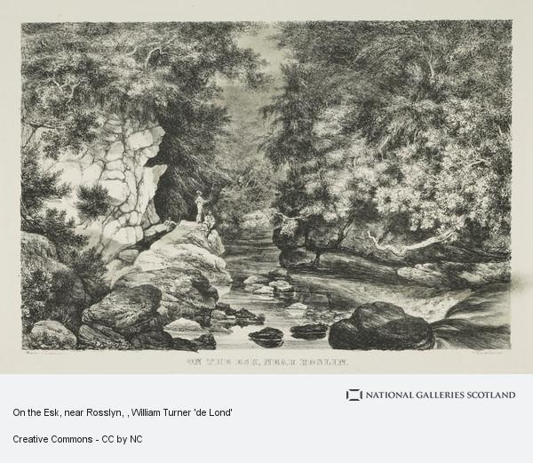 William Turner 'de Lond', On the Esk, near Rosslyn