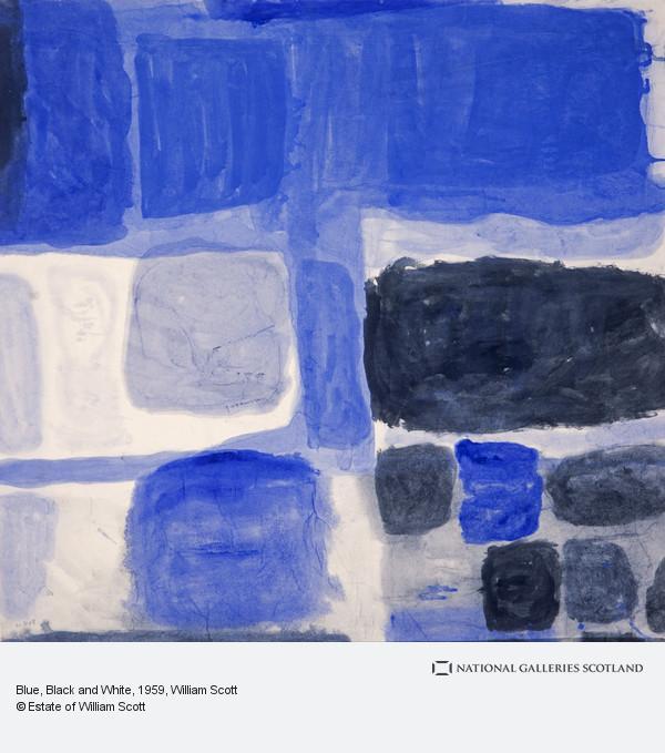 William Scott, Blue, Black and White