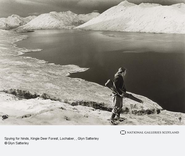 Glyn Satterley, Spying for hinds, Kingie Deer Forest, Lochaber