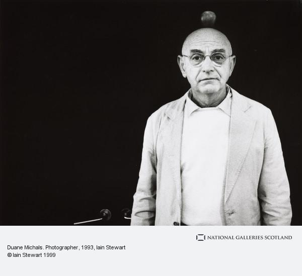 Iain Stewart, Duane Michals. Photographer